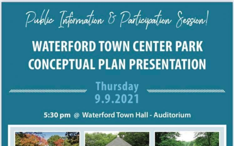 Waterford Town Center Public Meeting