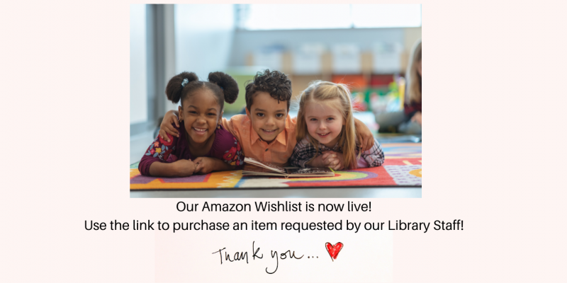 Support the library with your wishlist purchase